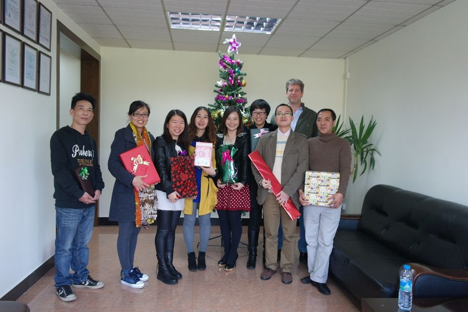 Team Building, Christmas At Gabrian's China Office