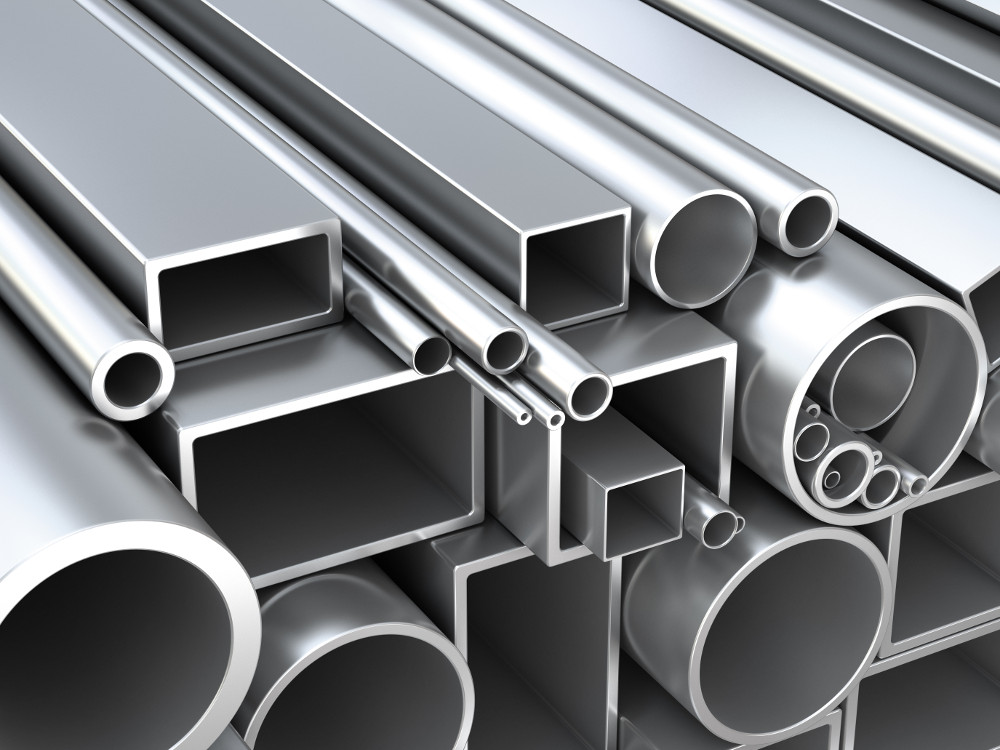 Standard Aluminum Extrusions | Tubing, Angles, Channels, etc  - Gabrian