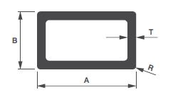Rectangular Aluminum Tubing Shape #2