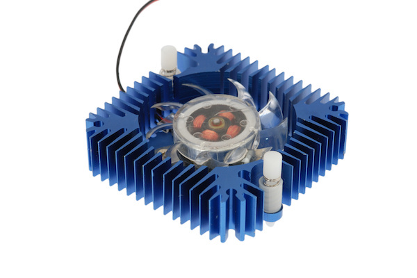 Active Heatsink - Blue Anodized