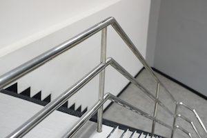 Aluminum Railing on Staircase - 6063 Aluminum
