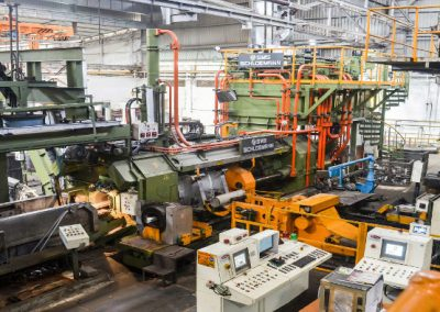 View of Extrusion Press
