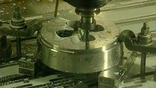Die Being Machined from H13 Steel