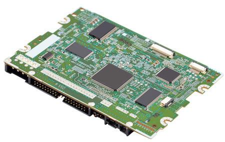 Assembled PCB