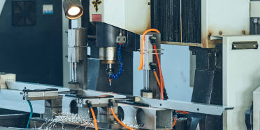 CNC milling machine with extrusion