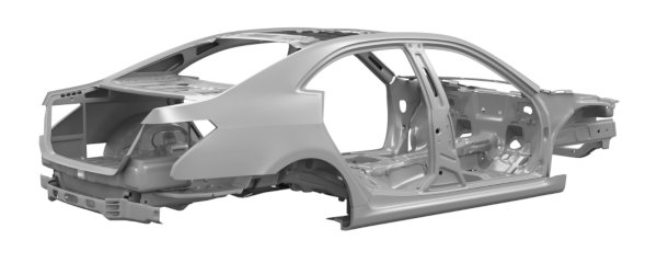 Unibody chassis with aluminum extrusions (1)