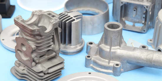 Various cast automotive parts