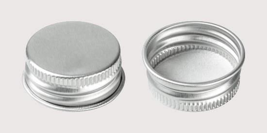 Aluminum closure stock for beverage containers