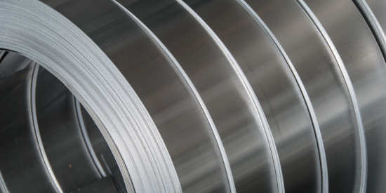 Custom rolled aluminum multi-slit coil