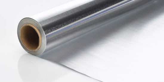 Roll of household aluminum foil from aluminum foil roll manufacturer