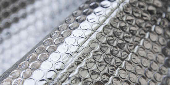 Aluminum Bubble Insulation From Sheet