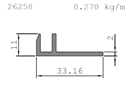 Solar Panel Profile Drawing Example