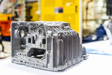 Automotive aluminum part